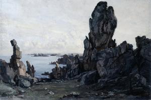 Island of Ushant, 1885 by Emmanuel Lansyer