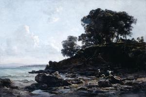 Laundrette at Low Tide, 1891 by Emmanuel Lansyer