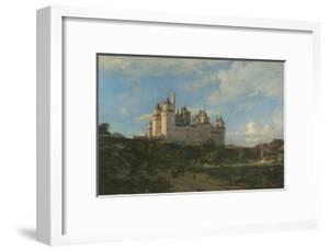 Le Château de Pierrefonds by Emmanuel Lansyer
