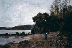 Le Ris, 1864 by Emmanuel Lansyer