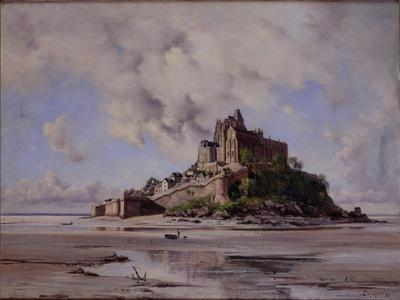Mont Saint-Michel, North-East Side, 1881