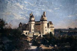 Pierrefonds, 1868 by Emmanuel Lansyer