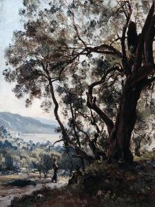 Roquebrune, 1892 by Emmanuel Lansyer