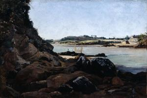 The Channel of L'Ile Tristan, 1873 by Emmanuel Lansyer