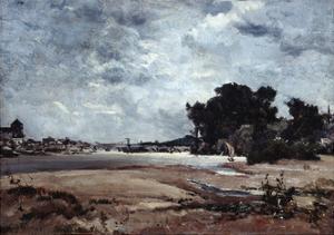 The Loire, 1865 by Emmanuel Lansyer