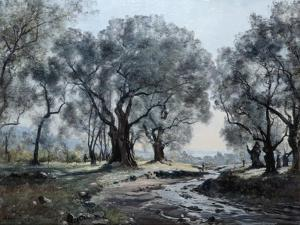 The Mountain Stream of Vallonet, 1892 by Emmanuel Lansyer