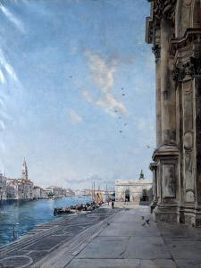 View from the Church of Madonna Della Salute, 1892 by Emmanuel Lansyer