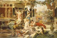 The Roman Bath-Emmanuel Oberhausen-Giclee Print