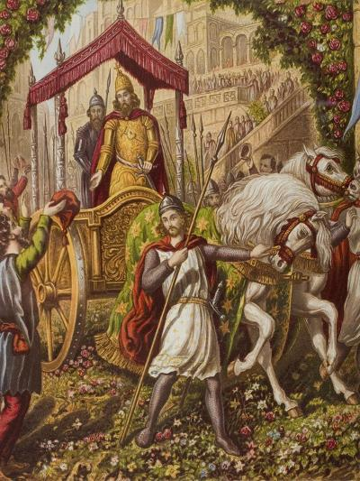 Emmanuel's Second Entry into Mansoul, Illustration from 'The Holy War' by John Bunyan (1628-88)--Giclee Print