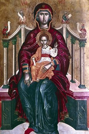 Virgin and Child Icon, 1664