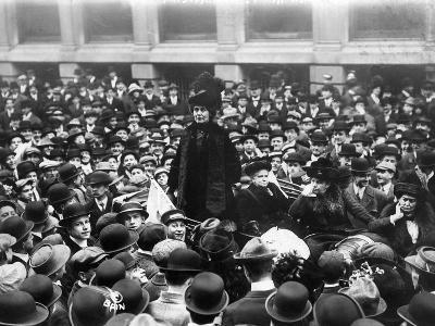 Emmeline Pankhurst--Photographic Print