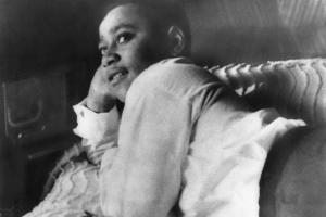 Emmett Till Lying on His Bed in His Chicago Home in 1955