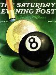 """Snarling Tiger,"" Saturday Evening Post Cover, April 19, 1941-Emmett Watson-Framed Premier Image Canvas"
