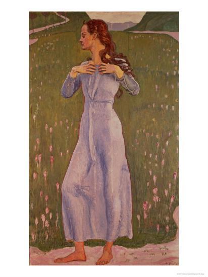 Emotion (Ergriffenheit), 1900-Ferdinand Hodler-Giclee Print