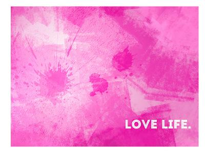 Emotional Art Love Life-Melanie Viola-Art Print