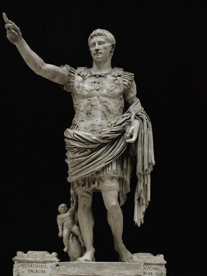 Divus Augustus - II | Colossal statue depicting Augustus