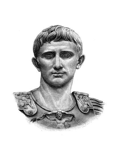 Emperor Caesar Augustus--Giclee Print