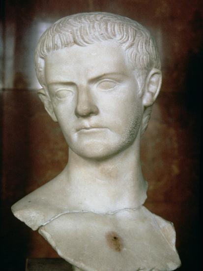 Emperor Caligula Roman, circa 31-38--Giclee Print