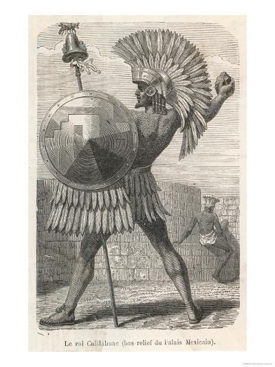 Emperor Cuitlahuac Brother Of Moctezuma Ii Ruler Of Tenochtitlan