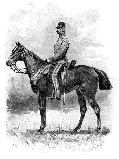 Emperor Franz Josef of Austria, 1892--Giclee Print