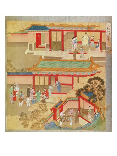 Emperor Hsuan Tsung--Giclee Print