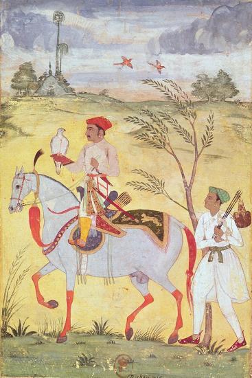Emperor Jahangir (1569-1627)--Giclee Print