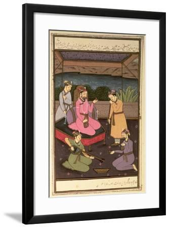 Emperor Khurram--Framed Giclee Print
