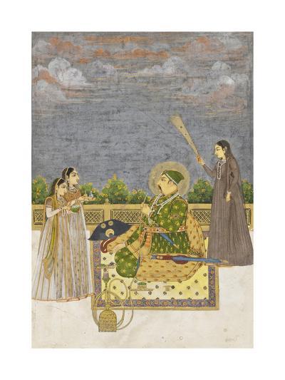 Emperor Muhammad Shah, c.1735-Mughal School-Giclee Print