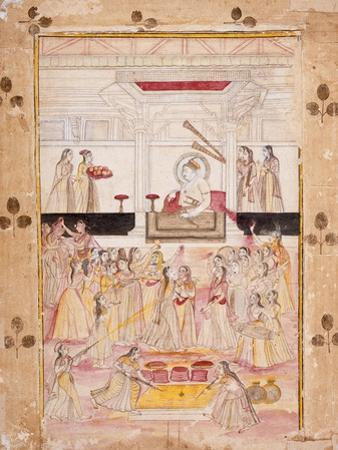 Emperor Muhammad Shah Presides over Celebrations