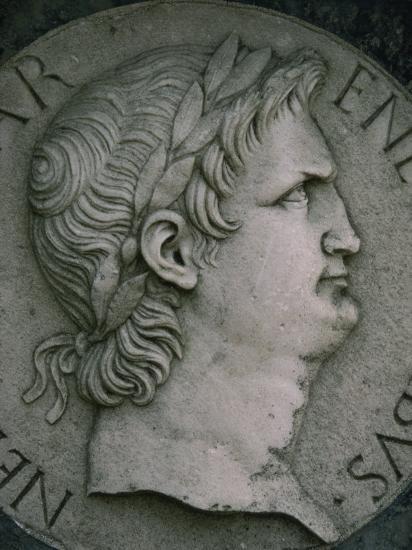 Emperor Nero in Marble, Certosa Di Pavia, Lombardy, Italy, Europe-Hart Kim-Photographic Print