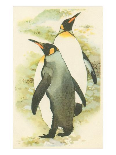 Emperor Penguins--Art Print