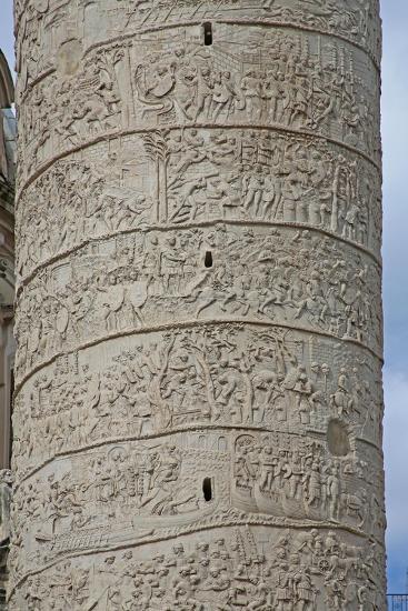 Emperor Trajan's Column--Giclee Print