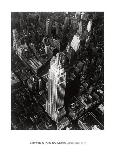 Empire State Building, 1935--Art Print