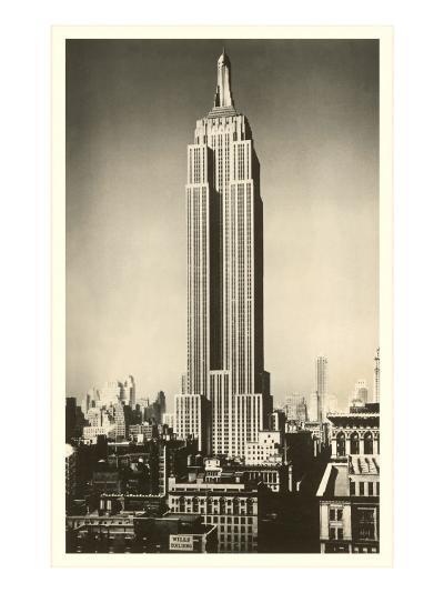 Empire State Building, New York City--Art Print