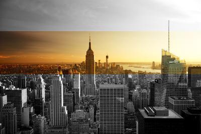 Empire State Building - Sunset - Manhattan - New York City - United States-Philippe Hugonnard-Photographic Print