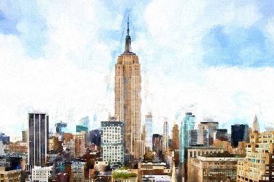 Empire State Cityscape II-Philippe Hugonnard-Giclee Print