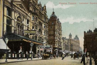 Empire Theatre, Leicester Square--Photographic Print