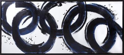 Empire--Framed Hand Painted Art