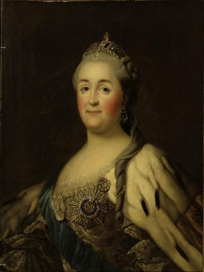 Empress Catherine II Alexeevna (1762-1796)-Vigilius Erichsen-Giclee Print