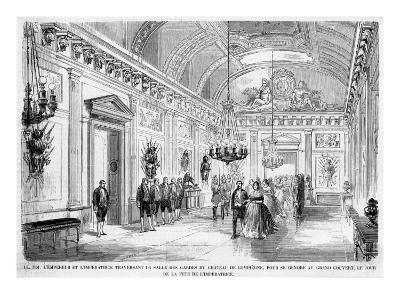 Empress Eugenie's Birthday Is Celebrated at Compiegne--Giclee Print