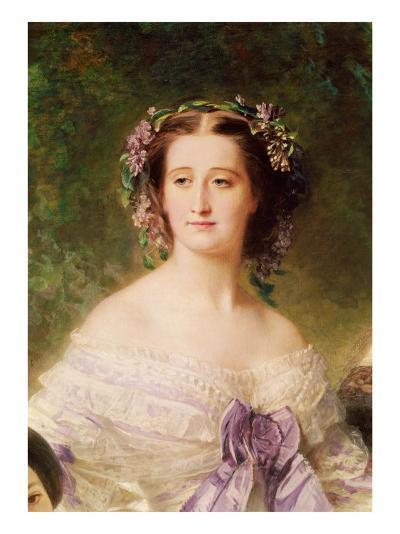Empress Eugenie-Franz Xaver Winterhalter-Giclee Print