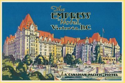Empress Hotel, Victoria, B.C.