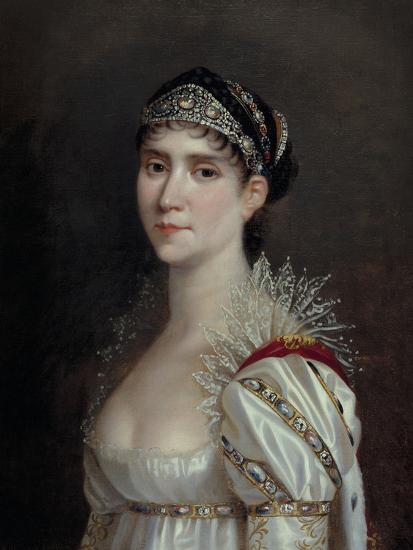Empress Josephine, c.1805-Robert Lefevre-Giclee Print
