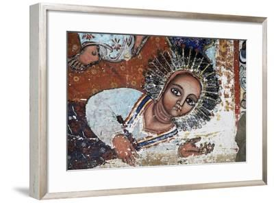 Empress Mentewab, Detail, Fresco, Church of Narga Selassie--Framed Giclee Print