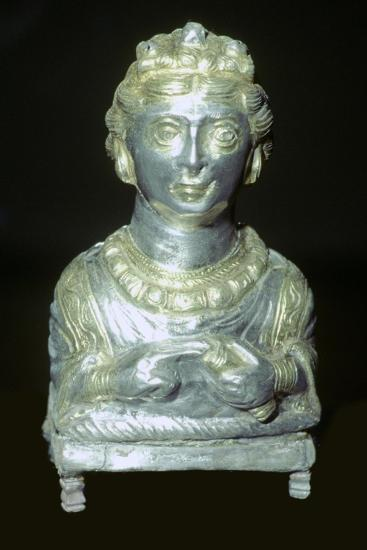 'Empress' pepper pot from the Hoxne hoard, Roman Britain, buried in the 5th century-Unknown-Giclee Print