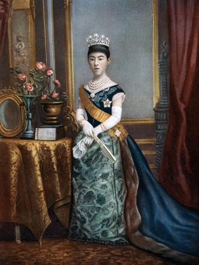 Empress Shoken, Empress Consort of Japan, Late 19th-Early 20th Century--Giclee Print