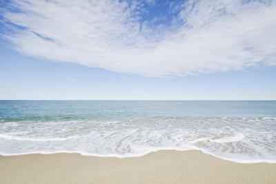 Empty Beach, Nantucket-Nine OK-Photographic Print