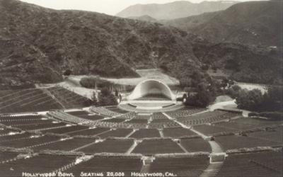 Empty Hollywood Bowl, Los Angeles, California