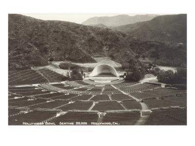 Empty Hollywood Bowl, Los Angeles, California--Art Print