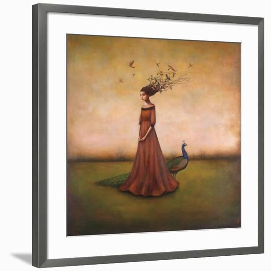 Empty Nest Invocation-Duy Huynh-Framed Art Print